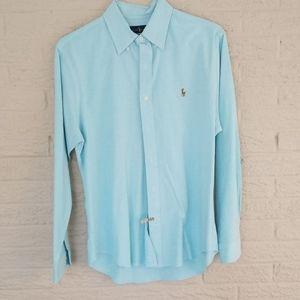 POLO by Ralph Lauren Men's Oxford Cloth SLIM sz L